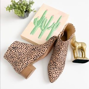 Cityclassified Point Toe Cheetah Womans booties